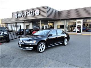 Used 2013 Volkswagen Passat TDI - HIGHLINE NAVIGATION for sale in Langley, BC