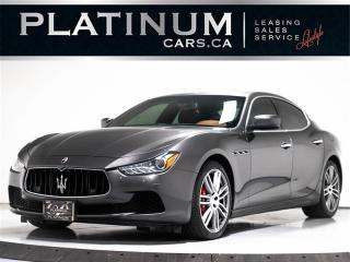 Used 2015 Maserati Ghibli S Q4 AWD, NAV, SUNROOF, ALLOY WHEELS KEYLESS ENTRY for sale in Toronto, ON