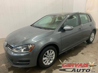 Used 2016 Volkswagen Golf TSI Trendline MAGS CAMÉRA SIÈGES CHAUFFANTS for sale in Trois-Rivières, QC