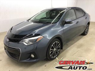 Used 2014 Toyota Corolla S Cuir/Tissus Toit Ouvrant MAGS Bluetooth Caméra *Bas Kilométrage* for sale in Trois-Rivières, QC