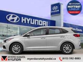 New 2020 Hyundai Accent Preferred IVT  - $121 B/W for sale in Kanata, ON