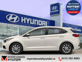 New 2020 Hyundai Accent Preferred IVT  - $122 B/W for sale in Kanata, ON