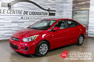 Used 2017 Hyundai Accent GL for sale in Laval, QC
