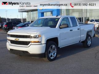New 2019 Chevrolet Silverado 1500 LD Custom  - SiriusXM for sale in Kanata, ON