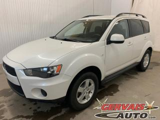 Used 2013 Mitsubishi Outlander ES AWD A/C Mags Sièges Chauffants Bluetooth for sale in Shawinigan, QC