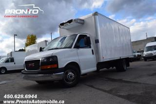 Used 2013 GMC Savana 3500 Cube 16 pieds reefer ** Zanotti ** for sale in Laval, QC