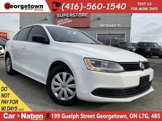 Used 2013 Volkswagen Jetta Sedan Trendline+ | HEATED SEATS | ONLY 92,094KMS | for sale in Georgetown, ON