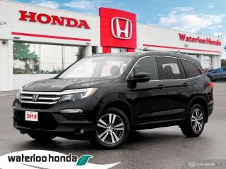 Used 2018 Honda Pilot Accident Free, One Owner Honda Pilot EX! Certified Powertrain Warranty until 06/13/2024 or 160,000KM for sale in Waterloo, ON