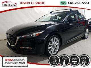 Used 2017 Mazda MAZDA3 Sport GT* GPS* CUIR* TOIT* CAMERA* for sale in Québec, QC