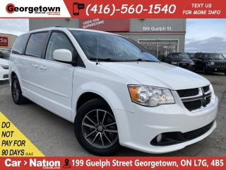 Used 2016 Dodge Grand Caravan SXT Premium Plus |BACK UP CAM|LEATHER|BLUETOOTH for sale in Georgetown, ON