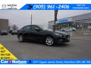 Used 2016 Mazda MAZDA3 GX | REAR CAM | BLUETOOTH | CRUISE CONTROL for sale in Hamilton, ON