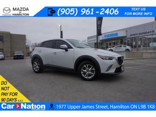 Used 2017 Mazda CX-3 GS | HEATED SEATS | REAR CAM | ALLOYS | BLUETOOTH for sale in Hamilton, ON