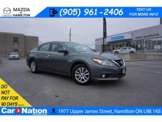 Used 2016 Nissan Altima 2.5 | ALLOYS | AUX INPUT | BLUETOOTH | CRUISE for sale in Hamilton, ON