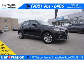 Used 2016 Mazda CX-3 GS | SUNROOF | LEATHERETTE | REAR CAM | AWD for sale in Hamilton, ON