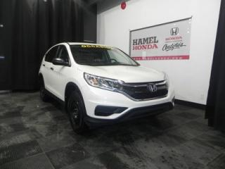 Used 2015 Honda CR-V LX PRATIQUE !!! for sale in St-Eustache, QC