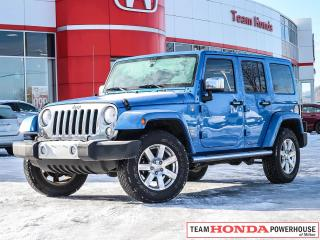 Used 2015 Jeep Wrangler Unlimited Unlimited Sahara | 4X4 | Navigation Inc. | Priced to Sell Fast for sale in Milton, ON