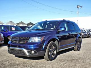 Used 2019 Dodge Journey CROSSROAD AWD *CUIR*TOIT*DVD*GPS* for sale in Brossard, QC