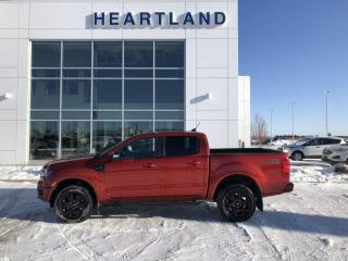 Used 2019 Ford Ranger Lariat HEATED SEATS   REMOTE START   LEATHER   ADAPTIVE CRUISE CONTROL-USED FORD DEALER for sale in Fort Saskatchewan, AB