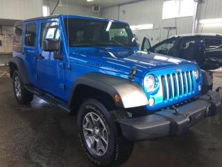Used 2015 Jeep Wrangler Rubicon 4WD for sale in Boischatel, QC