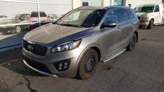 Used 2017 Kia Sorento SX V6 AWD 7 PASSAGERS, CUIR, TOIT PANORAMIQUE for sale in Montréal, QC