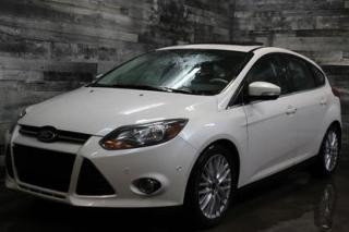 Used 2014 Ford Focus AUTOMATIQUE, SIÈGE EN CUIR ET CHAUFFANT, BLUETOOTJ for sale in St-Sulpice, QC