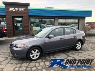 Used 2008 Mazda MAZDA3 A/C for sale in Plessisville, QC