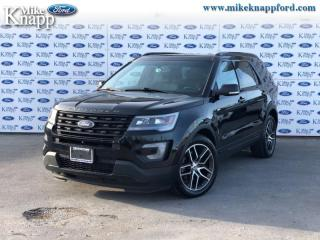 Used 2016 Ford Explorer Sport  - Leather Seats -  Navigation for sale in Welland, ON
