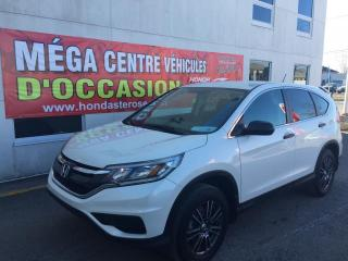 Used 2016 Honda CR-V LX AWD AVEC MAGS for sale in Laval, QC