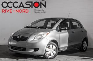 Used 2008 Toyota Yaris 5dr HB for sale in Boisbriand, QC