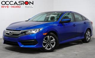 Used 2016 Honda Civic LX BLUETOOTH+CAM.RECUL+SIEGES.CHAUFFANTS for sale in Boisbriand, QC