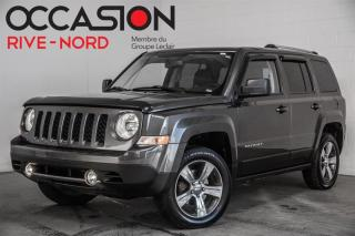Used 2016 Jeep Patriot High Altitude 4x4 CUIR+TOIT.OUVRANT for sale in Boisbriand, QC