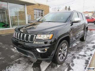 Used 2018 Jeep Grand Cherokee Limited for sale in Varennes, QC