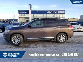 Used 2016 Nissan Pathfinder SL 4WD/BLIND SPOT/NAV/BACK UP CAM for sale in Edmonton, AB