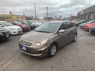 Used 2013 Hyundai Accent GL for sale in Hamilton, ON