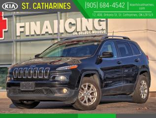 Used 2016 Jeep Cherokee North | 4x4 | Panoramic Sunroof | Climate Control for sale in St Catharines, ON