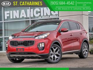 Used 2017 Kia Sportage SX Turbo | Cooled Seat | Navi | Lane Assist for sale in St Catharines, ON