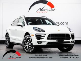 Used 2016 Porsche Macan S|Navigation|Blindspot|Pano Roof|Cooled Seats for sale in Vaughan, ON