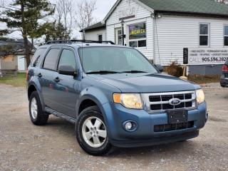 Used 2012 Ford Escape 1 Owner No Accidents XLT Blueth Sunroof Power Leather heated for sale in Sutton, ON
