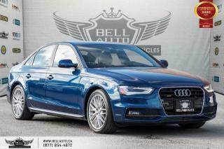 Used 2015 Audi A4 Komfort plus, NO ACCIDENT, AWD, SUNROOF, PUSH START for sale in Toronto, ON