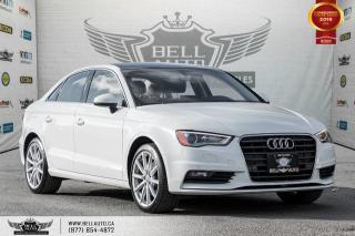 Used 2016 Audi A3 1.8T Progressiv, NO ACCIDENT, NAVI, REAR CAM, SENSORS for sale in Toronto, ON