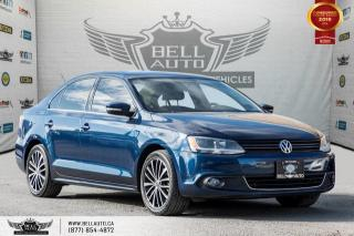 Used 2014 Volkswagen Jetta Sedan Highline, NO ACCIDENT, NAVI, REAR CAM, SUNROOF, PUSH START for sale in Toronto, ON
