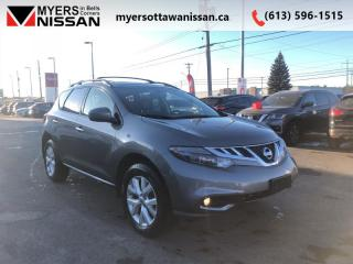 Used 2014 Nissan Murano SL  - Sunroof -  Leather Seats - $111 B/W for sale in Ottawa, ON