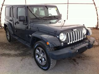 Used 2016 Jeep Wrangler Unlimited Sahara NAVIGATION, FACTORY REMOTE STARTER, HANDSFREE BLUETOOTH for sale in Ottawa, ON