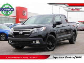 Used 2019 Honda Ridgeline Black Edition AWD for sale in Whitby, ON