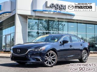 Used 2017 Mazda MAZDA6 GT- LEATHER, MOONROOF, BOSE, BLUETOOTH, REAR CAMERA for sale in Burlington, ON