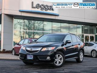 Used 2013 Acura RDX ALL WHEEL DRIVE, V6, LEATHER, REAR CAMERA for sale in Burlington, ON