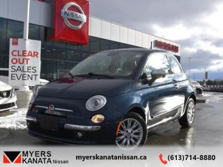 Used 2014 Fiat 500 LOUNGE  - Leather Seats -  Sunroof - $95 B/W for sale in Kanata, ON