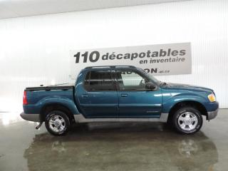 Used 2002 Ford Explorer TRAC for sale in St-François-Du-Lac, QC