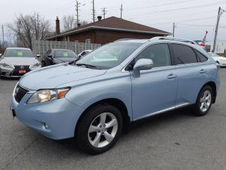 Used 2010 Lexus RX 350 AWD, BACKUP CAMERA, SUNROOF, POWER GROUP, 200 KM for sale in Ottawa, ON