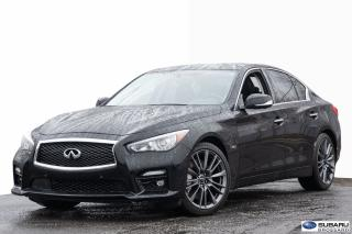 Used 2016 Infiniti Q50 Red Sport 400 for sale in Brossard, QC